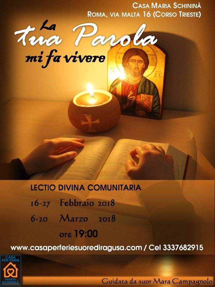 Lectio Comunitaria 2018